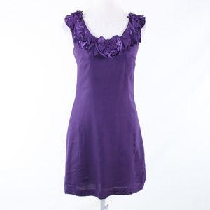 Baraschi purple sleeveless sun dress 0